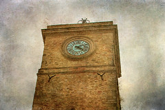 The old clock tower (vittorio.chiampan) Tags: tower clock fineart art historic pov italy
