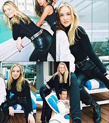 Cachou leather pants (gitblp) Tags: cachou anne charlotte pontabry leather leder cuir cuero pants trousers jeans ass sexy shiny tight