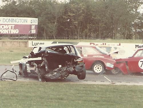 Donington 85 accident Photo 1