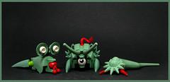 Imaginarium Escapees (Karf Oohlu) Tags: lego moc fantasy wtf creature fantasycreature imaginery