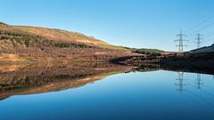 Rhodeswood Reservoir (Maria-H) Tags: rhodeswood reservoir longdendale reflection hills derbyshire peakdistrict pennines uk olympus omdem1markii panasonic 1235