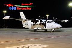 Icar Air Let L-410UVP-E Turbolet E7-MEL (Mario Alberto Ravasio) Tags: icar air let l410uvpe turbolet e7mel aviationphotobgy oriospotter bgyairport nightshot nightspotting nightsky flickr