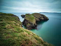 The rope bridge - Northern Ireland - Seascape photography