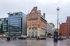 James Street, Liverpool. (Philip Brookes) Tags: normanshaw building liverpool architecture wet rain city road car vehicle traffic merseyside england britain