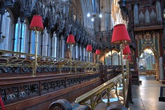 DSC_4566_67_68_69_70_tonemapped (IMX2019) Tags: art light cathedral old interior masonry god religion pulpit nave organ photo picture decoration shadows nikon d500 d700 35mm 1755mm zeiss nikkor exeter candle