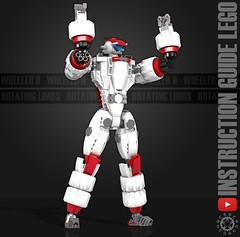 Wheeler II Instruction guide (messerneogeo) Tags: messerneogeo messerneovideo robot mech mecha wheelerii lego