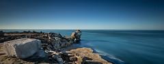 Pulpit rock (paullangton) Tags: dorset jurassic rock pulpit coast coastal azure sea water blue sky longexposure lee landscape seascape portland nature sunrise wide canon portlandbill
