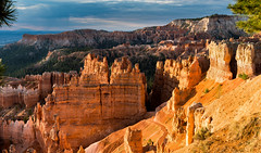 The Magic of Bryce Canyon (Ron Drew) Tags: nikon d800 brycecanyonnationalpark utah dawn sunrise goldenhour hoodoo cliff morning mountain trees summer canyon nationalpark clouds vista rim erosion usa park landscape outdoors