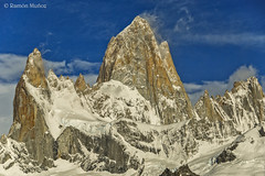 DSC0204 El Chalten o Fitz Roy, 3.405 m., Andes patagónicos, Argentina (Ramón Muñoz - Fotografía) Tags: los andes argentina el chalten fitz roy patagonia montañas de parque nacional glaciares
