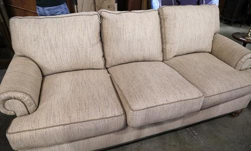 H240B Drexel Heritage upholstered sofa ($224)