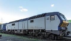02_2018_10_04_Dortmund_CAPTRAIN_DE_1251_002_RDC_AUTOZUG_Sylt (ruhrpott.sprinter) Tags: ruhrpott sprinter deutschland germany allmangne nrw ruhrgebiet gelsenkirchen lokomotive locomotives eisenbahn railroad rail zug train reisezug passenger güter cargo freight fret dortmund westfalenhütte dortmundereisenbahn captrain akiem atlu cdt cflca cww de itl mkb nrail rcm rdc 0037 0276 0762 1251 1276 1506 6185 mindenerkreisbahn autozug sylt mak 2700 logo natur outdoor