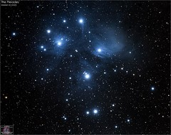 Messier 45 - Pleiades Star Cluster (The Dark Side Observatory) Tags: tomwildoner night sky deepsky space outerspace skywatcher telescope 120ed celestron cgemdx asi190mc zwo astronomy astronomer science canon canon6d deepspace guided weatherly pennsylvania observatory darksideobservatory stars star tdsobservatory backyardeos earthskyscience m45 messier pleiades opencluster taurus