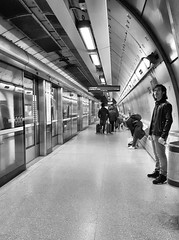 Southwark (R~P~M) Tags: train railway station jubileeline londonunderground southwark platform london england uk unitedkingdom greatbritain