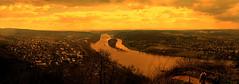Rhine (R. Kurosawa) Tags: rhine river hills drachenfels siebengebirge bonn germany sky clouds cloudscape northrhinewestphalia