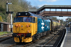 50049 in Bewdley on the 02-04-2016 (Robert Lewis(railhereford)) Tags: 50049