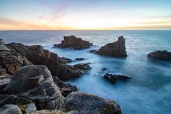 Big rocks (crouzetalex1993) Tags: longexposure sunset sea colors rocks surf coast savage canon7d