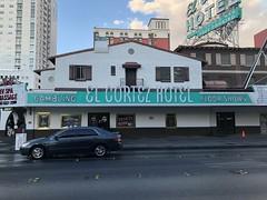 EL CORTEZ HOTEL LAS VEGAS NEVADA (4) (ussiwojima) Tags: elcortezhotel hotel lasvegas gaming casino gmbling nevada neon advertising sign