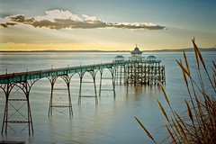 Clevedon Pier (Nige H (Thanks for 15m views)) Tags: nature landscape seascape pier clevedon clevedonepier bristolchannel wales somerset england