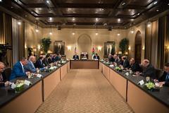 جلالة الملك عبدالله الثاني يلتقي رؤساء النقابات المهنية (Royal Hashemite Court) Tags: kingabdullahii professional associations jordan