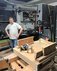 017 Will And His Bandsaw (saschmitz_earthlink_net) Tags: 2018 california southerncaliforniagrotto christmasparty losangelescounty baldwinhills windsorhills party climbing practice