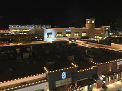 2018 YIP Day 322: All lit up (knoopie) Tags: 2018 november iphone picturemail night sky building architecture universityvillage holiday lights all lit up 2018yip project365 365project 2018365 yiipday322 day322