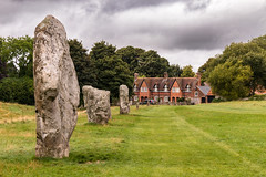 Avebury stone circle (Keith in Exeter) Tags: avebury stonecircle wiltshire standing stone grass field ancient english heritage nationaltrust building megalithic tree sky landscape neolithic bronzeage
