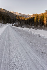 Snowscpae (der_actiondude) Tags: snow winter landscape road way nature