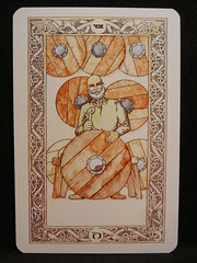 Eight of Discs. (Oxford77) Tags: tarot thenorsetarot norse viking vikings cards card tarotcards