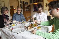 Dinner at Arne and Aslaug's place (roboppy) Tags: norway os softeland arneandaslaugsplace hsupeng kare arne aslaug
