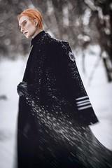 Falling snow (╭∩╮ʕ•ᴥ•ʔ╭∩╮) Tags: generalhux generalhuxcosplay hux balljointeddoll bjdphoto bjdphotography bjdkylux dollshecraft