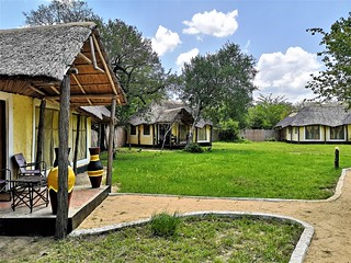 Africa Safari Selous bungalow