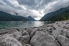 Österreich - Achensee 0080 (Peter Goll thx for +10.000.000 views) Tags: ebenamachensee tirol österreich at rock lake mountain alpen alps water sky clouds wolken