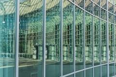 Which Way to Go? (Explored 2018/11/04) (Tom Levold (www.levold.de/photosphere)) Tags: fuji poznan xt2 glas architecture building architektur fassade glass universität facade fenster windows university