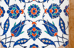 TILE00227 (NORTHERNLIGHTS IMAGES) Tags: tile pattern background islamic floral turkish design blue iznik illustration ceramic decoration art traditional culture vintage islam seamless wallpaper oriental decor old white arabic ornamental architecture ottoman ornament decorative istanbul flower antique red mosque ornate turquoise vector texture tulip beautiful turkey abstract element morocco black green retro motif arabesque east