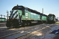 BN SD45 6430 (chuckzeiler50) Tags: bn sd45 6430 railroad emd locomotive clyde train chuckzeiler chz