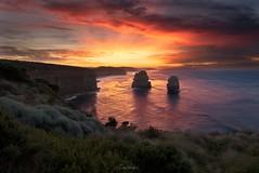 Apostle sunrise (Gary Eastwood) Tags: seascape sea greatoceanroad gogandmagog apostles 12apostles nikond750 nikon nisifilters ndfilter sunrise clouds cloudsstormssunsetssunrises