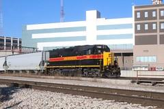 Des Moines, Iowa, Iowa Interstate Railroad, Engine, 700 (photolibrarian) Tags: desmoinesiowa iowainterstaterailroad engine 700