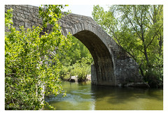 Spin' a Cavallu (al3x!s) Tags: anthropic antique architecture bridge brown color corsica d750 france green grey nature nikkor35mm nikon nikond750 outside photo river sunlight travel tree water