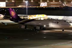 Thai Airways   Boeing 747-400   HS-TGX   Tokyo Haneda (Dennis HKG) Tags: aircraft airplane airport plane planespotting staralliance canon 7d 24105 tokyo haneda rjtt hnd thai thaiairways tg tha boeing 747 747400 boeing747 boeing747400 hstgx