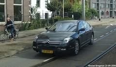 Citroën C6 3.0 V6 automatic 2007 (XBXG) Tags: tf699j citroën c6 30 v6 automatic 2007 citroënc6 bva automatique black noir s113 hartveldseweg diemen nederland holland netherlands paysbas french car auto automobile voiture française vehicle outdoor