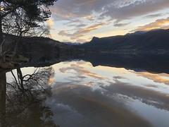 Morgentryll -|- Morning trill (erlingsi) Tags: rotevatn volda reflection