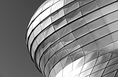 .....Paneum II..... (christikren) Tags: austria architecture ausstellung building bw christikren exhibition facade linescurves monochrome österreich panasonic museum brotmuseum bauherrenpreis2018 edelstahlschindeln paneum structures light lines curves