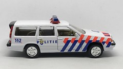Cararama / Hongwell - Volvo Estate Politie - Netherlands Police Car -  Miniature Die Cast Metal Scale Model Emergency Services Vehicle (firehouse.ie) Tags: cops cararama holland polotie police wagon automobile l'auto coche car vehicule voiture vehicle volvo