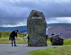 The Scotland - England border. (albutrosss) Tags: scotland england border albutross