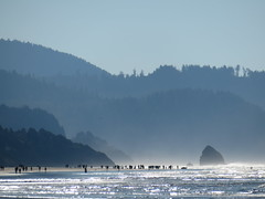 lots of people over there (carolyn_in_oregon) Tags: cannonbeach oregon pacificocean