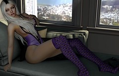 Purple (Sadystika Sabretooth) Tags: catwa eudora3d events fameshed fashion maitreya secondlife {lefilcasse} anypose ascendant gobyfameshed lefilcasse romp tableauvivant theskinnery