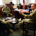 South Carolina National Guard, U.S. Navy Reserve leadership discuss partnership, capabilities at McCrady Training Center