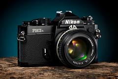 Nikon FM3A (martin wilmsen) Tags: nikon 35mm 35mmfilmcamera vintagenikon d850 strobist elinchrom elc1000 105mm studio skyport strobelight tabletop productshot productphotography cameracollection 50mmaislens