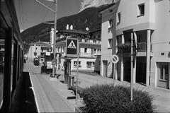 Le Prese (vladixp) Tags: fomapan 200 xtol praktica mtl5 mc flektogon 24 35 hoya hmc k2 foma fomapan200 pf7250u 3600dpi 35mm yellowfilter filmscan 35mmfilm film bw bwfilm filmphotography negative scanned graubünden grigioni grisons svizzera schweiz switzerland suisse rhb rhätischebahn