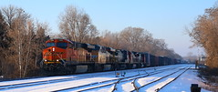 BNSF 7263, UP 7515, GECX 7353, CN 2115, CN 5620, Perkins, Appleton, 8 Dec 18 (kkaf) Tags: a447 up bnsf gecx cn es44dc es44ac c408w c408 sd70i appleton perkins